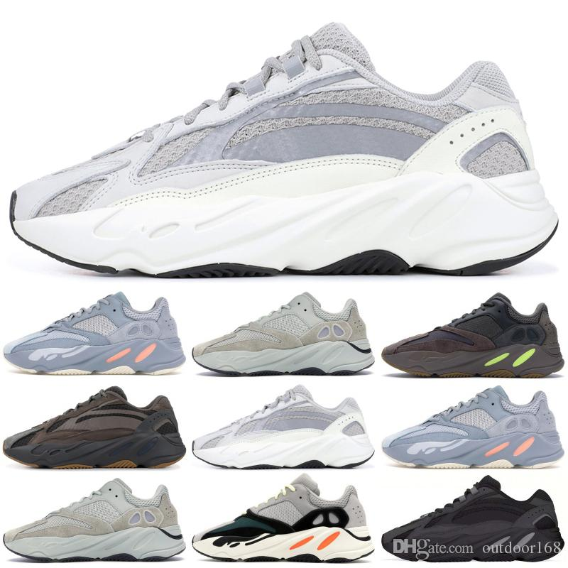 98fd7bda595a9 2019 700 Wave Runner 2019 Kanye West Running Shoes Inertia Salt Static Mens  Womens Designer Sneakers Sport Shoes With Box US 5 11.5 From Outdoor168