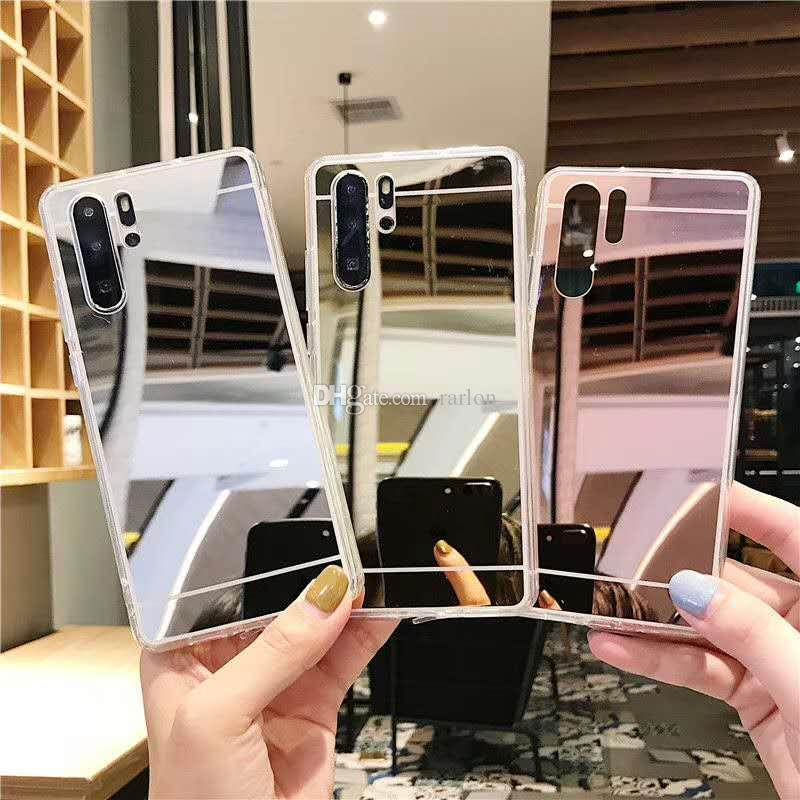 Designer Phone Case Mirror Case Women Back TPU Cases For Iphone 12 11 Pro Max XR XS 9 8 7 Plus Samsung s20 ultra Note 20 Plus S10 S9 s8