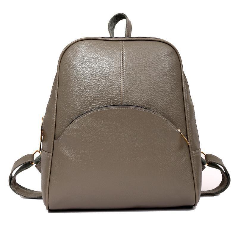 183dfc1df1 Korean Casual Backpack Women PU Leather Bag Shoulder Bag Girls FMini Hand Fashion  Female Mini Travel Bagpack Black Backpack Camera Backpack From Selfport