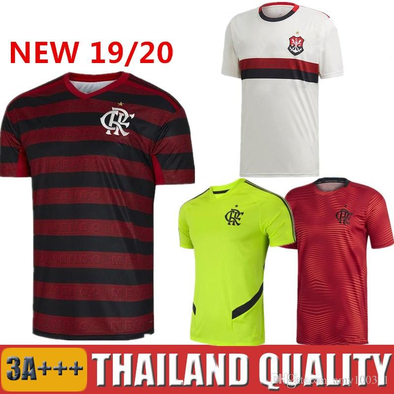 free shipping 13b50 31875 2019 CR Flamengo jersey 19 20 Flemish GUERRERO DIEGO VINICIUS JR Soccer  Jerseys Flamenco GABRIEL B Camisa Men Woman Kids kit football shirt