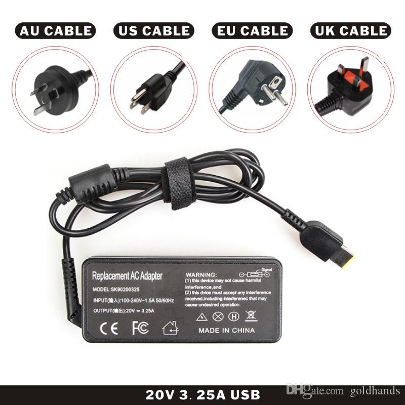 FDBRO Laptop Adapter 20 V 2.25A Platz USB Power Ladegerät Notebook AC Adapter DC Adapter US Standard Computer Hohe Qualität