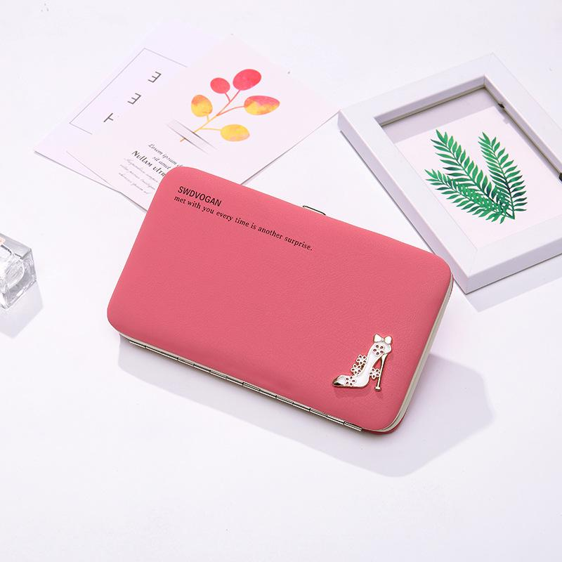 2020 New Women's Purse Net Red Korean-Style Multi-Function Mobile Phone Bag Lunch Bag Long Pencil Case Coin Wallet Fashion