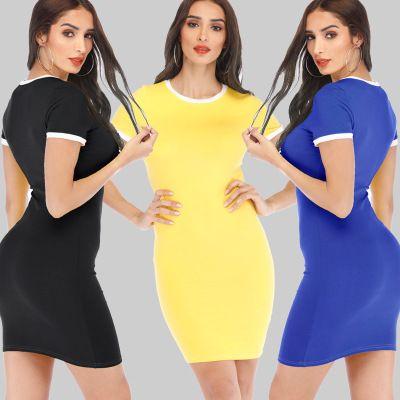 47010877 Black Sexy Party Dress Women Summer Fashion Deep V Neck Halter ...