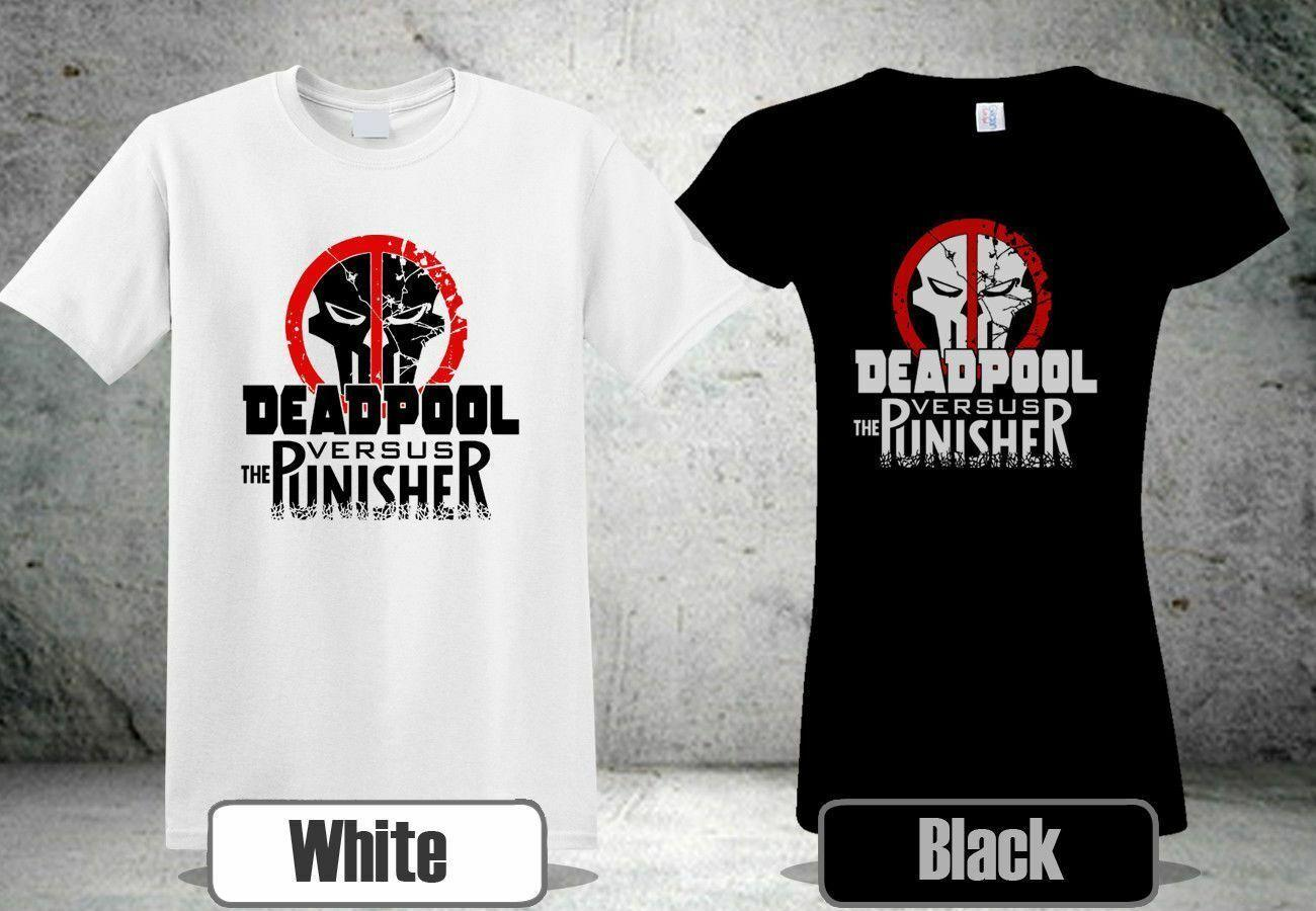 d9f733d79 NEW DEADPOOL PUNISHER SKULL WHITE&BLACK SHIRT 3 SHIRT USA SIZE S XXXL  ZM1Funny Unisex Casual Different T Shirts Day Shirt From Tshirtkidd,  $12.96| DHgate.