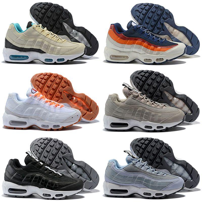 f846845121 95 TT OG 20th Anniversary Men Running Shoes Solar Red Pull Tab Grape ...