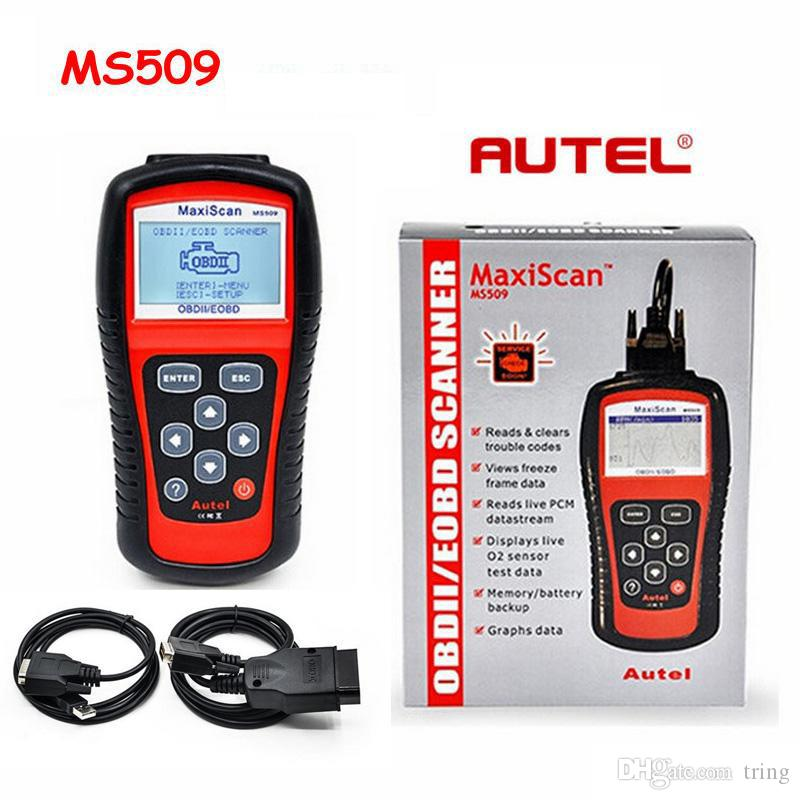 MaxiScan Diagnostic Tool MS509 Autel MS OBDII OBD2 EOBD Automotive Code Reader Scanner Work for US Asian European Car
