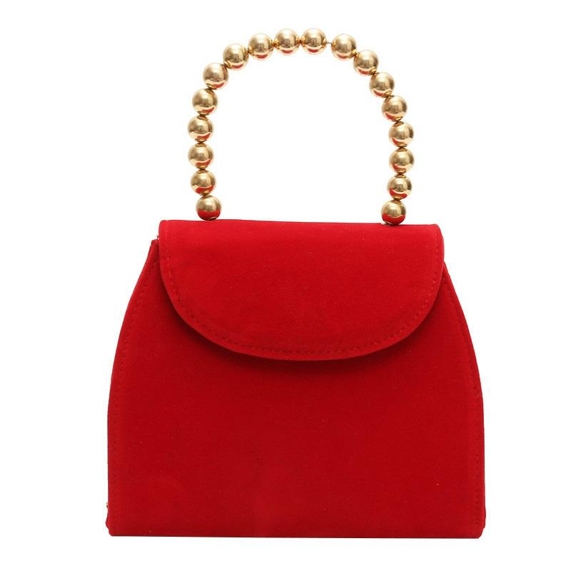15da4d11af Elegant Ladies Wedding Bag 2019 New Quality Matte Pu Leather Women S  Designer Handbag Pearl Tote Chain Shoulder Messenger Bags Luxury Handbags  Leather ...