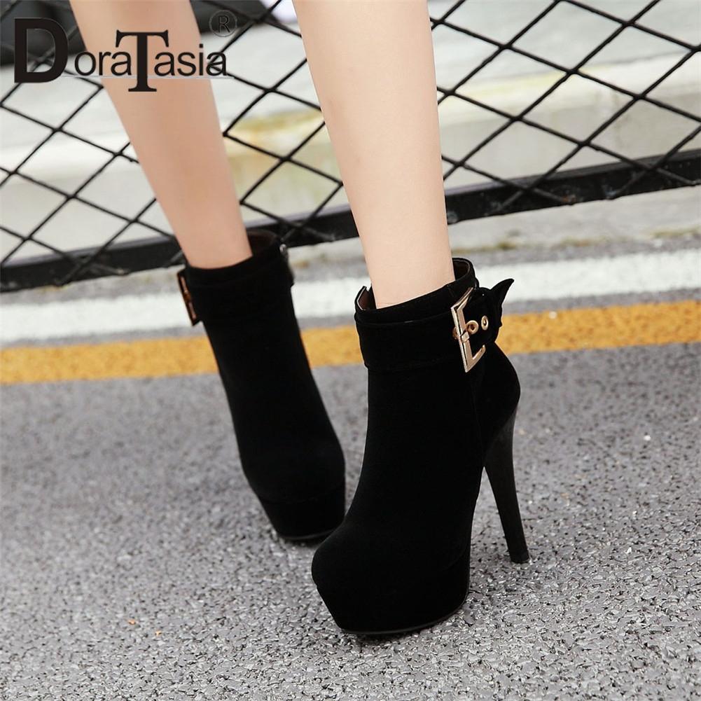 5ec245b7e38d Doratasia popular women ankle botos metal decoration platform high jpg  1001x1001 Platform high heel socks