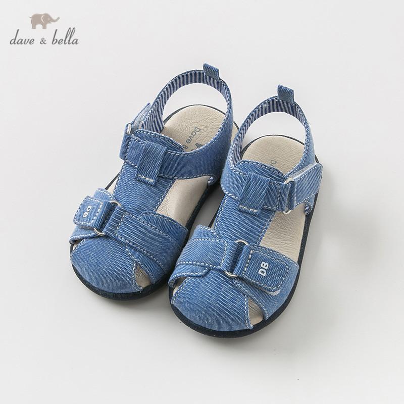 d85e96c9fc4 DB9710 Dave Bella Summer Baby Boy Sandals New Born Prewalkers Infant ...