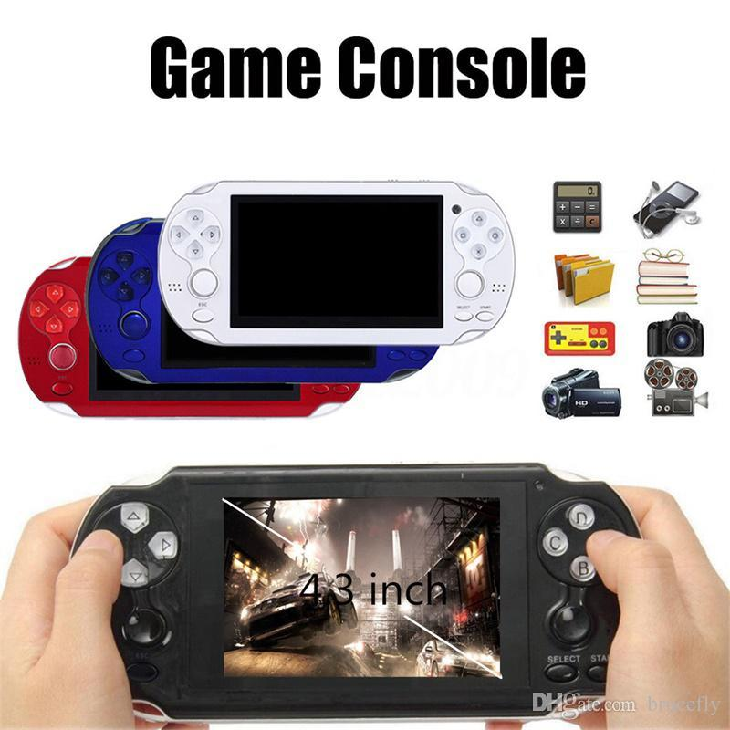4 3 Inch Multi-Function Portable Game Handheld Game Console 4GB Memory 300  games For PSP Game Camera Video E-book