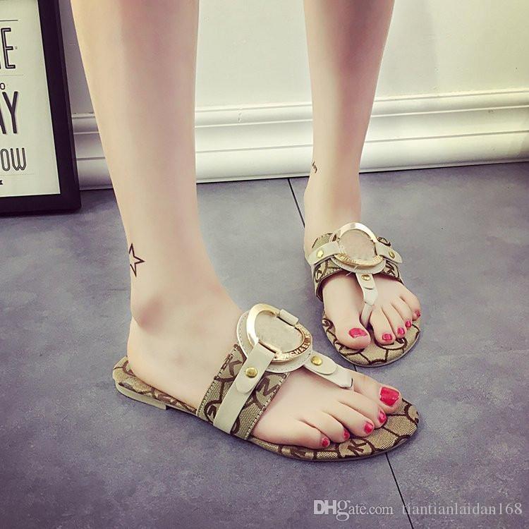 a1d6bfc72fec7 2019 Hot Sale Women Slippers Summer Sandals Women Flip Flops Beach Flat  Designer Sandals Size 35 39 Winter Boots For Women Boots Online From ...