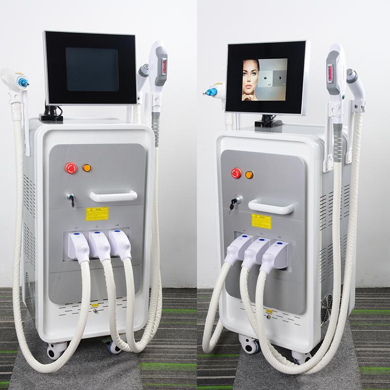 IPL лазерная эпиляция пигментации лечение акне OPT SHR Elight омоложения кожи красоты оборудование ND YAG лазер