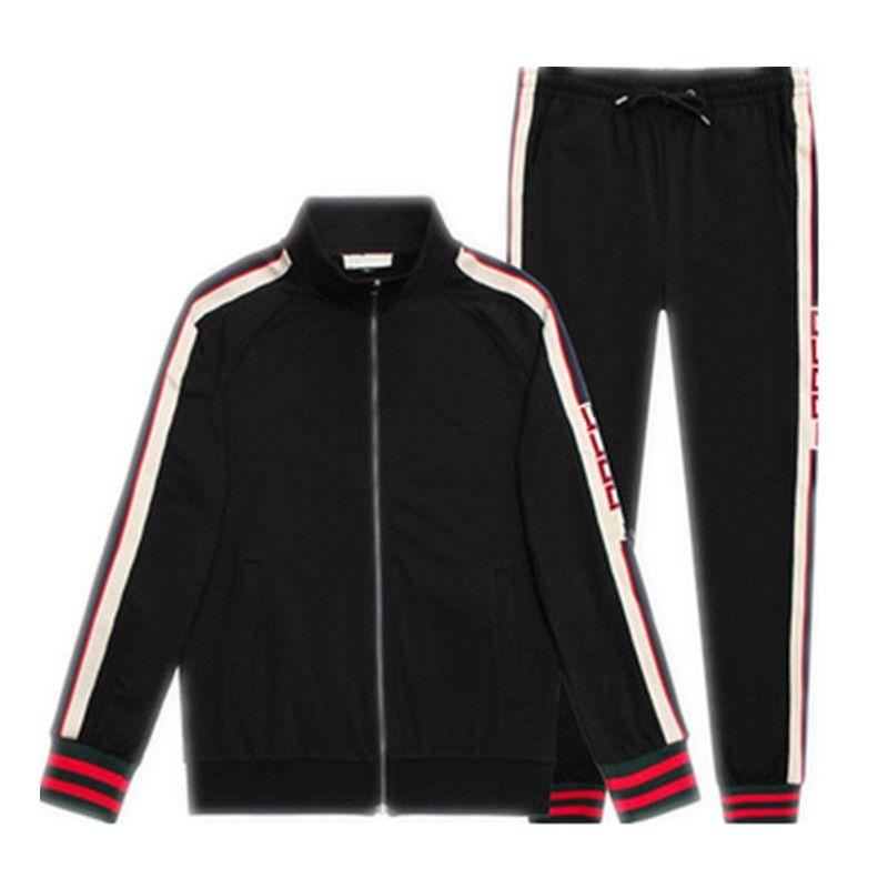 27a5f3e925 Brand Designer Tracksuit Winter Europe Italy Men Luxury Brand Sport  Sweatshirt Trousers Casual Women Hoodies Coat Pants Tracksuit Size M-3XL