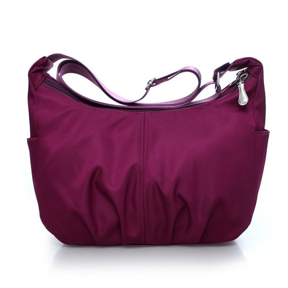 797a69dda1 Designer Waterproof Nylon Hobos Fashion Women Shoulder Bag Leisure Zipper Crossbody  Bag Large Capacity Women Satchel Bag Name Brand Purses Overnight Bags ...