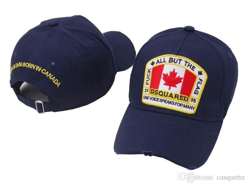 3503ad3ace279 Newest Luxury Brand Baseball Cap Men Bone Masculino Dsqes Cap 6 Panel Black  Casquette Homme Hats For Men Cotton Snapback Caps Deus Icon Hat Richardson  Hats ...