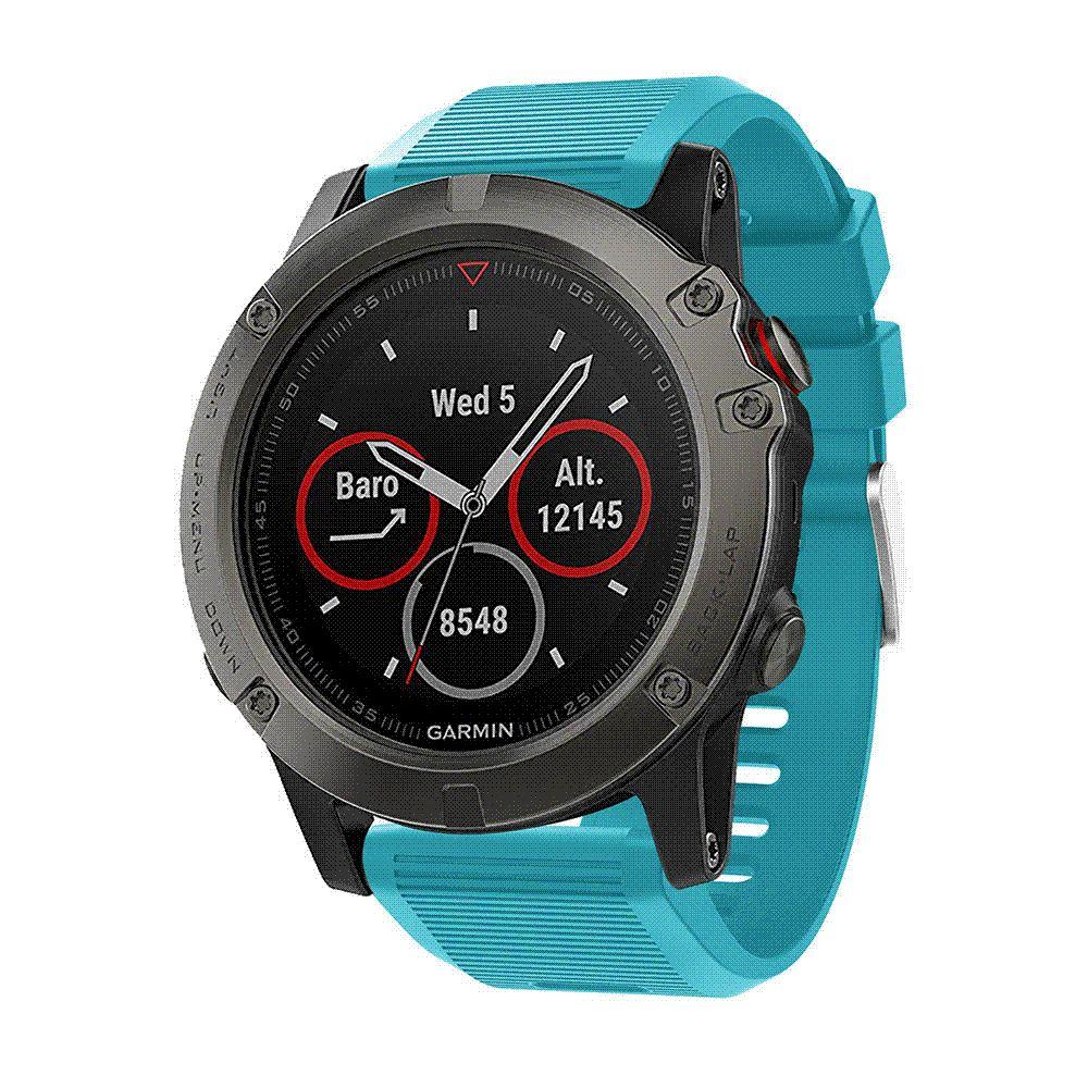 26mm Watchband Strap For Garmin Fenix 5x Plus Smart Watch Quick