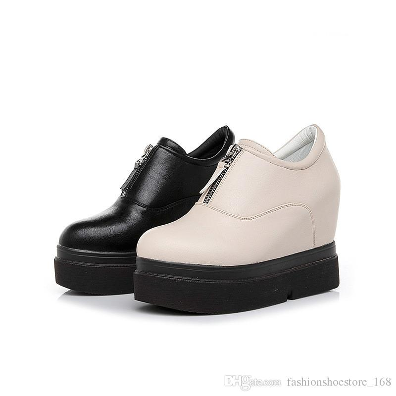 b78e539e167 Women Sneakers 2019 Autumn Women Wedges Shoes Fashion Women Casual Shoes  Female Height Increasing Platform Walking Shoes Orthopedic Shoes Womens  Sandals ...