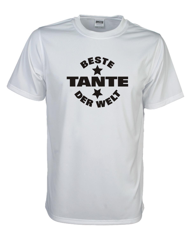 Beste Tante Der Welt Lustiges Witziges Sprüche Funshirt Geschenk Faf018funny Free Shipping Unisex Casual Tshirt