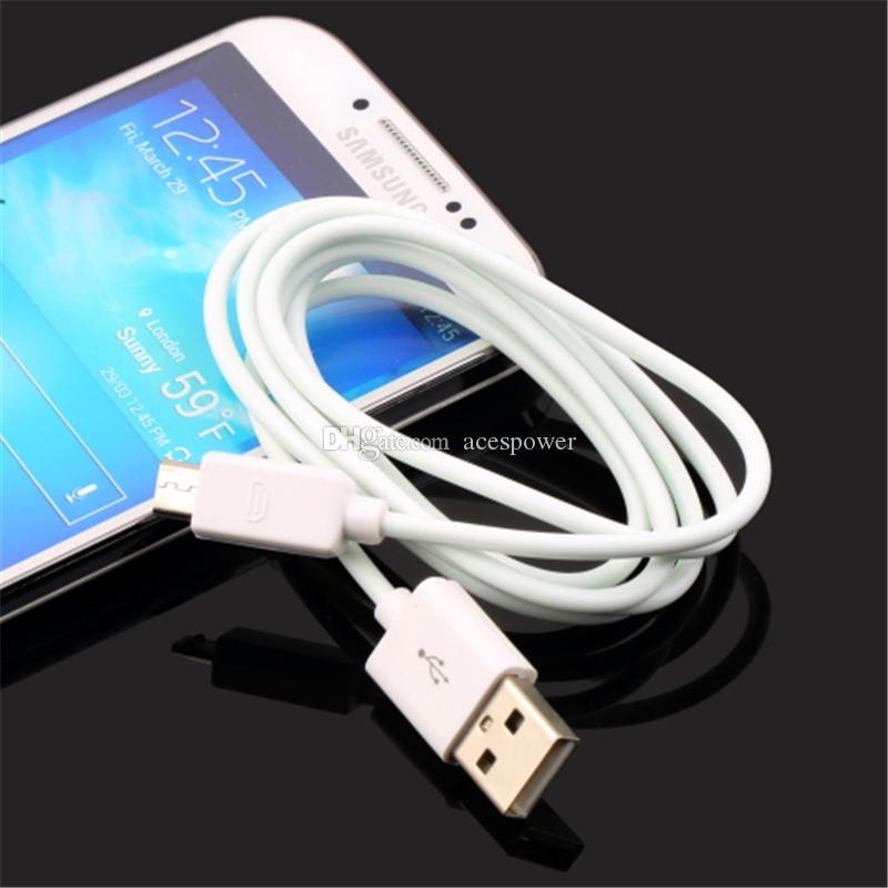 Tipo C Tipo-C Micro USB 1M Cabo de dados Para Samsung Nota 10 PLUS S9 S8 Além disso S10 saída 2.1A Sync Cable Dados