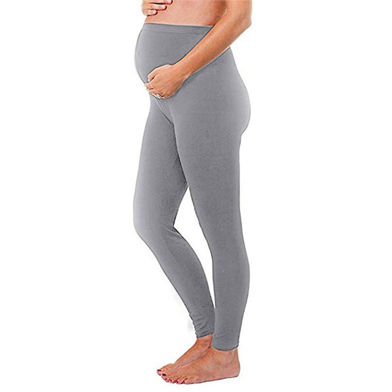 Acheter Vêtements De Maternité Vêtements De Grossesse Femmes Maternité  Enceintes Collants Solides Pantalon Pantalon Pantalon De Maternité Ropa  Maternidad ... ad7f4c4ef79