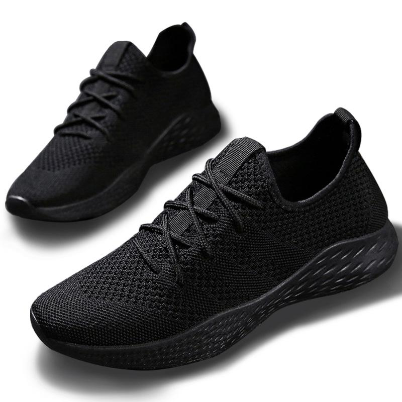 Men's Shoes Original Spring New Breathable Mens Sports Shoes Mesh Single Shoes Students Running Travel Casual Shoes Men Led Shoes