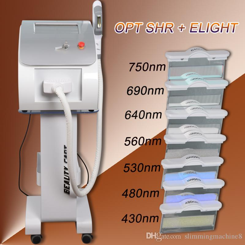 Professional Salon Use ipl shr hair removal machine 7 filters elight ipl vascular removal with UK imported lamp CE approved