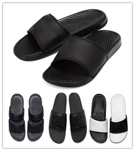 6bf02560 Mens Designer slide sandal Floral brocade men slipper Gear bottoms Flip  Flops women striped Beach Scuffs causal flat slippers luxury shoes