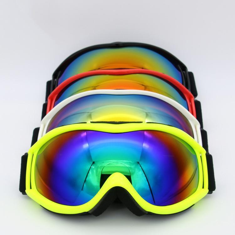 a28abfadb6c Compre VANREE Marca Gafas De Esquí Doble Lente UV400 Antivaho Esquí Gafas Hombres  Mujeres Máscara Gafas De Nieve Adultos Esquiar Gafas De Snowboard 16 A ...