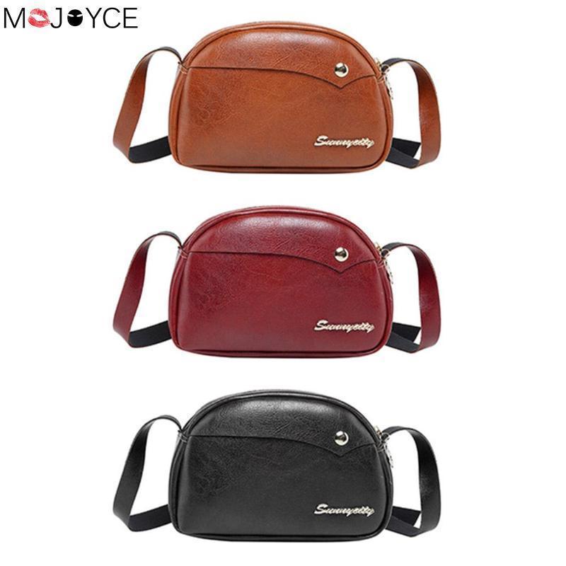 e06a91da0b Cheap Vintage PU Leather Sling Shell Messenger Bag For Women Fashion Female  Shoulder Crossbody Bags Bolsa Feminina Messenger Bags Crossbody Bags From  Bags6