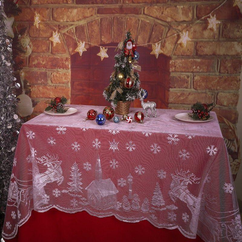 Snowflake Wedding Table Covers 7 11 Internist Dr Horn De