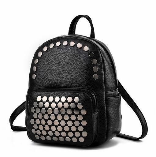 e49af0f7d699 School Backpacks Style 2019 Fashion Women Backpacks Quality Pu Leather Shoulder  Bag Mini Backpack Teenage Girl Travel Rucksack Swiss Gear Backpack Osprey  ...