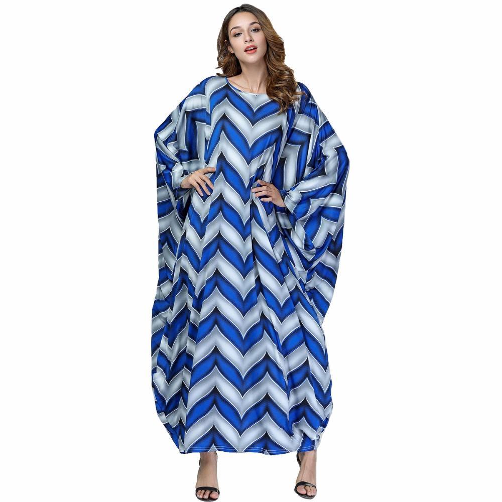 b9024eb2806 2019 Babalet Women S Elegant Muslim Abaya Dress Islamic Dubai Long Dress  Ramadan Arab Robe Loose Casual Round Collar EID Bat Sleeve From Braces