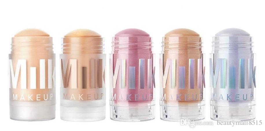 Milk Makeup Matte Primer Blur Stick Luminous Holographic Sticks Highlighter 5 Shades Genuine Quality Glow Concealer Cosmetics Free Shipping