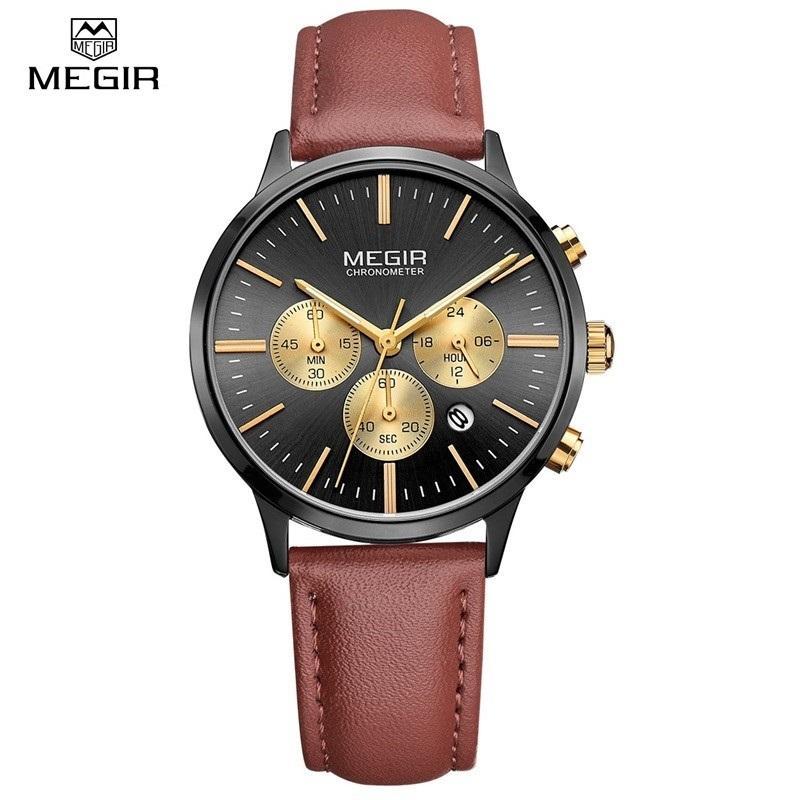 8431e9c95a89 Compre Relojes De Lujo Para Mujer Marca MEGIR Moda Deporte Para Mujer  Amantes Reloj De Cuarzo Reloj Relogio Feminino Para Mujer Relojes De Pulsera  De Regalo ...