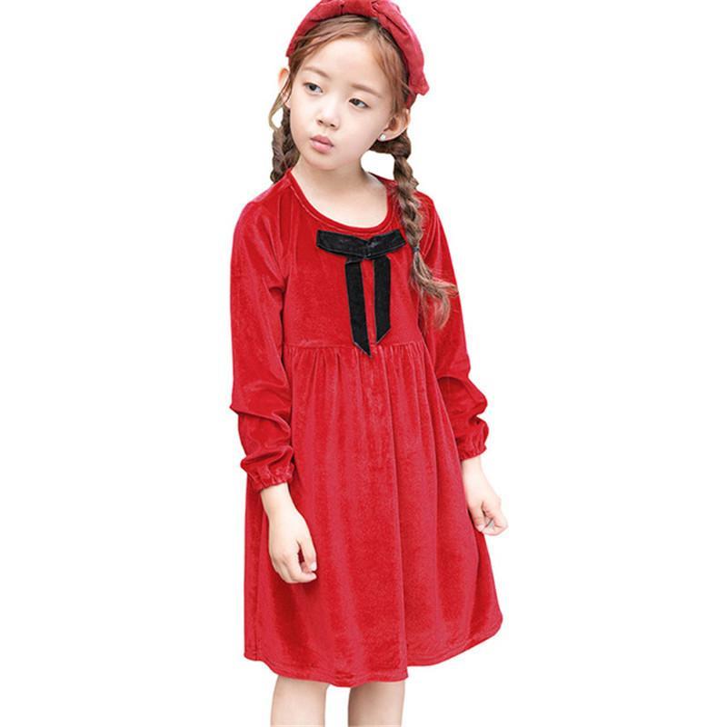 Mädchen Kleidung Mädchen Kleidung Änderungen Farbe Pailletten Marke Mädchen Kleid Langarm Baumwolle Kinder Kleidung Kinder Prinzessin Kleider Neue Kostüm Mutter & Kinder