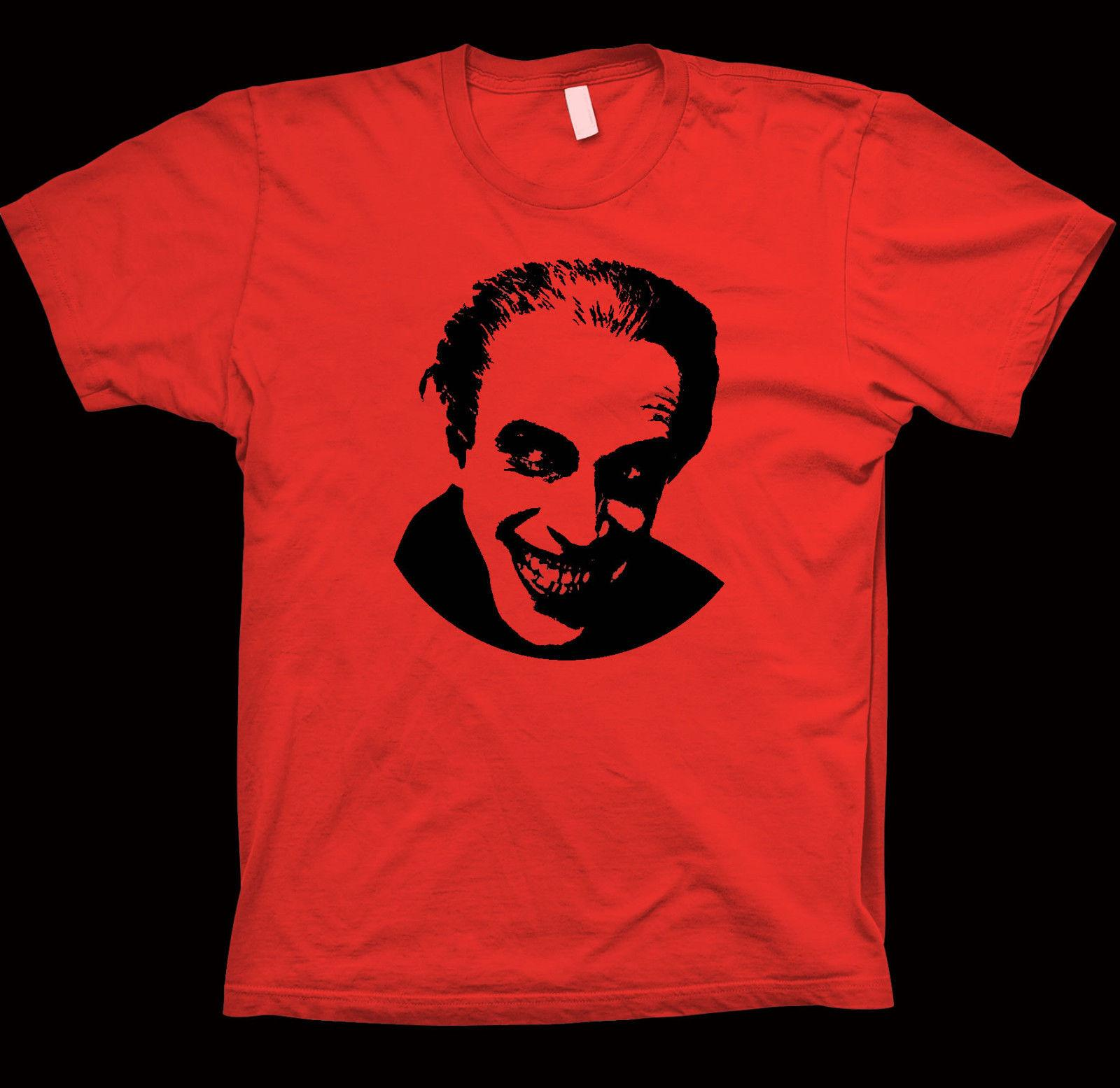 The Man Who Laughs T-Shirt Paul Leni, Victor Hugo, Mary Philbin, Cinema FilmShort Sleeve Plus Size t-shirt colour jersey Print t shirt