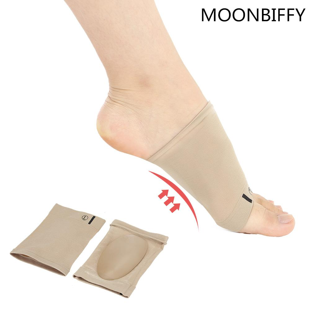 Skin Care Tools 1pair Arches Footful Orthotic Flat Feet Relieve Pain Arch Support Brace Gel Pads Memory Foam Support Shoes Insoles Insert Pads Foot Care Tool