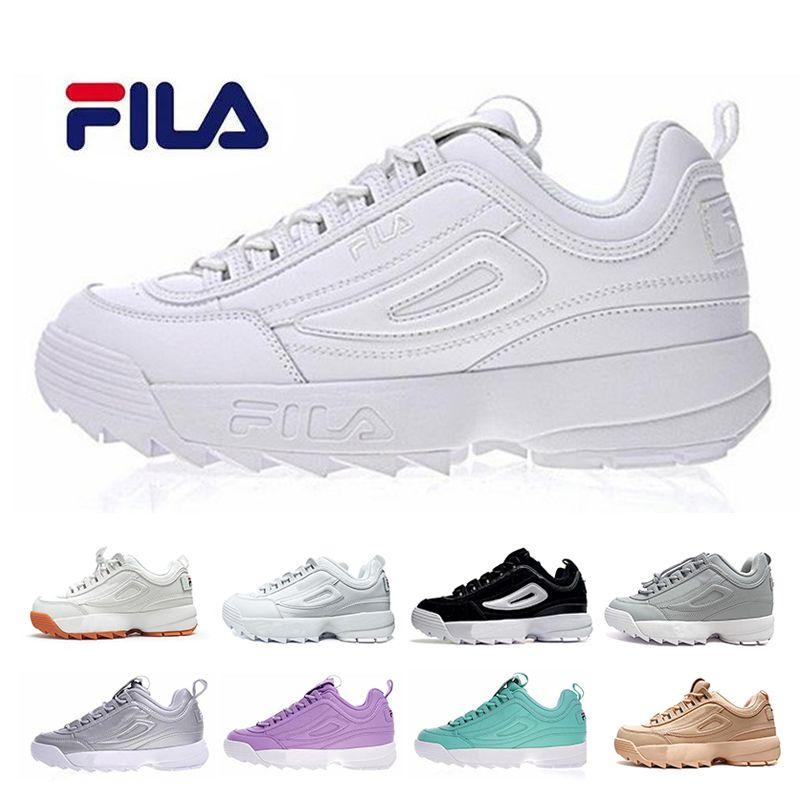 Fila II 2 File Running Shoes For Men Women Disruptors Filas Luxury ... 1addf23cf