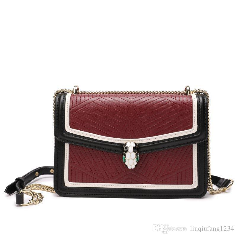 fe4d9ee912 New Leather Ms Single Shoulder Bag Stone Leather Color Matching ...