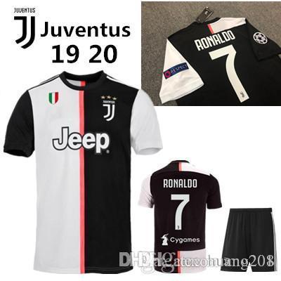 new concept 06b48 f3dc3 2019 2020 Juventus soccer jersey RONALDO Man Soccer Jersey 19 20 uniforms  champions Bernardeschi DYBALA Juventus soccer jersey MEN shirt