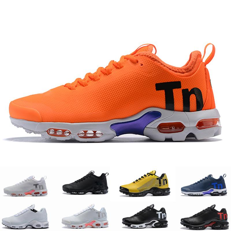 quality design a1206 58aac Acheter 2019 De Gros! Top Pas Cher Hommes Femmes Chaussures Vert Chaussures  TN Ultra Sports Requin Baskets Air Caushion Running Tns Chaussures 5 11 De  ...