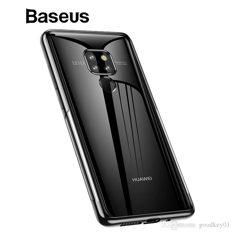 For Huawei Mate 20 Ultra Thin Soft Silicone Case Baseus Luxury