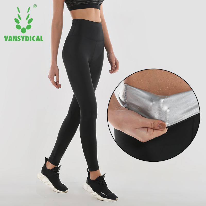 Leggings da yoga sottili Leggings da traspirazione da donna Pantaloni da allenamento a vita alta Pantaloni da allenamento caldi da donna sudore