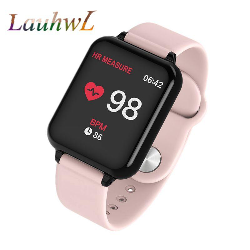 B57 fitbit Smart watches Waterproof Sports For Iphone phone Smartwatch  Heart Rate Monitor Blood Pressure Functions For kid pk iwo