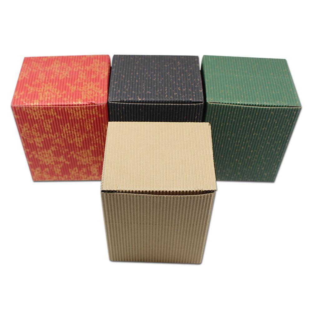 65bf779a2 Compre 30 Unids Caja De Regalo De Cartón Corrugado De Color Embalaje ...