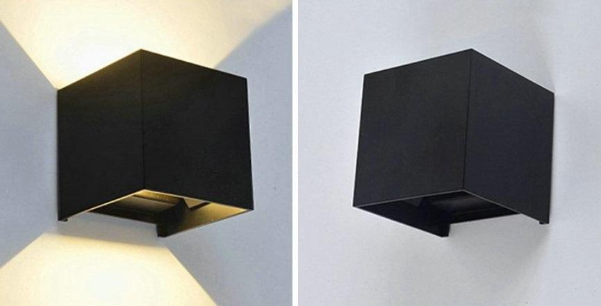 2019 Outdoor Wall Light Up And Down Outdoor Lamps Aluminum Square Wall  Light Balcony Exterior Wall Pillar Light From Swift9, $15.08 | DHgate.Com