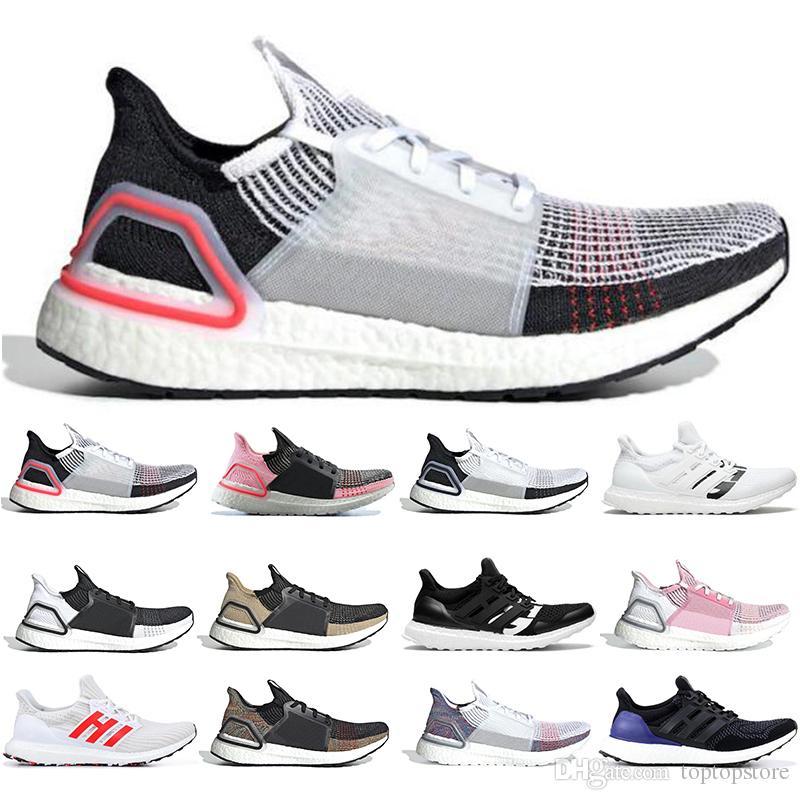d17c21600 Adidas Boost 2019 Ultra Boost 19 Zapatos Para Correr Hombres Mujeres Nube  Blanco Negro Oreo Ultraboost 5.0 Para Hombre Zapatillas Deportivas De Lujo  ...