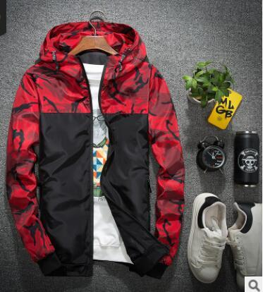 add545d8722 2018 Spring Autumn Winter Wear New Men S Casual Sports Jacket Baseball Suit  Male Cotton Outerwear Cool Printing Clothing Mens Jacket Brands Cool Mens  Jacket ...