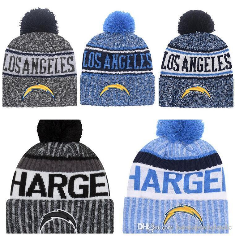 2019 2019 Fashion SD Chargers Winter Cuffed Knit Hats For Men Women Unisex  Adults Pittsburgh Wool Skullies Hat Beanies Casual Warm Caps From ... d113552cb52b