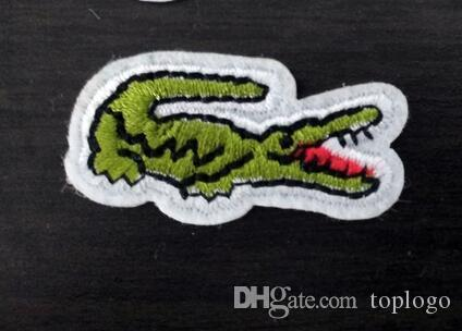 shirt patch DIY tool Crocodile Pattern embroidered patches for sewing Bag clothing patches iron on sewing accessories applique